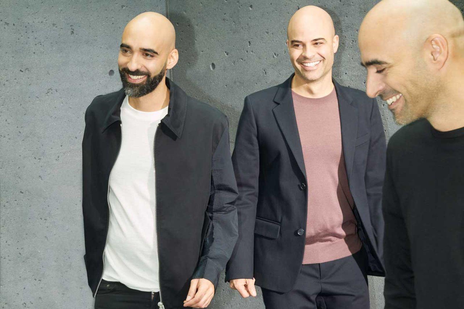 Left to right: Bassel Atallah, Firas Atallah, Rami Atallah