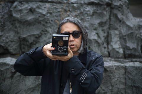 Hiroshi Fujiwara fragment design x Polaroid Originals camera