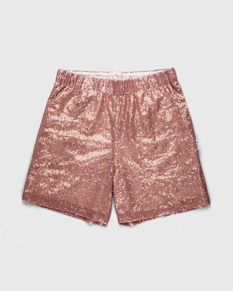 Advisory Board Crystals x Highsnobiety — Sequin Shorts Pink