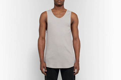 Colton Ribbed Cotton-Jersey Tank Top