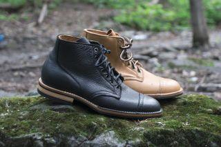 premium selection 31d6b b01dc Tate + Yoko x Viberg Canadian Moose Leather 1950 Service Boot