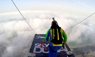 Watch People Base Jump Off the World's Second Highest Residential Structure in Dubai