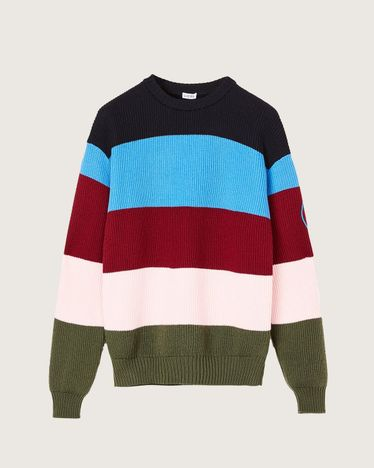 EYE/LOEWE/NATURE STRIPE SWEATER