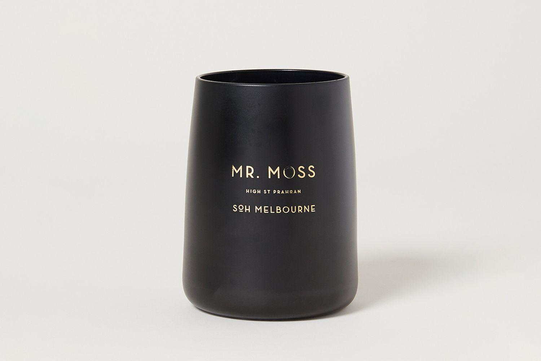 Mr. Moss Black Matte Candle