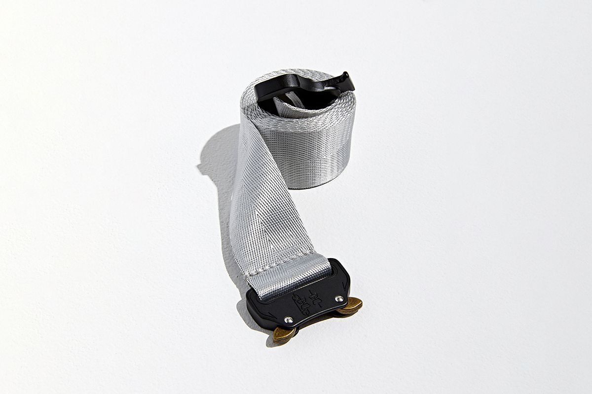 Utility Buckle Nylon Belt