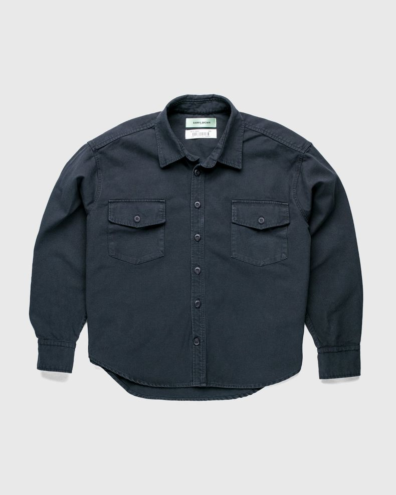 Darryl Brown — Military Work Shirt Vintage Black