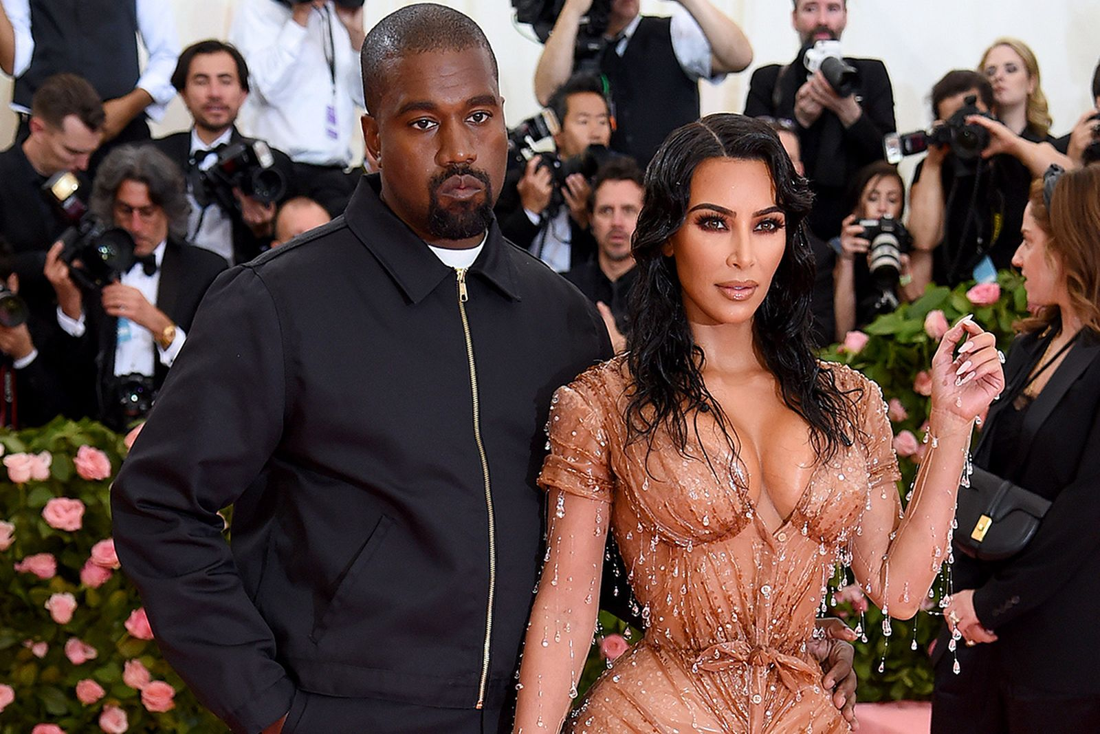 kanyes met gala jacket dickies buy Met Gala 2019 kanye west