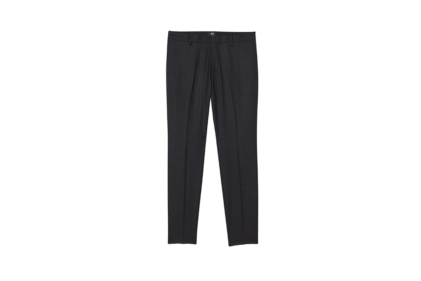 HM Slim Fit Wool Blend Pants Gift Guide h&m holiday