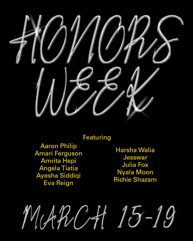 Honors Week