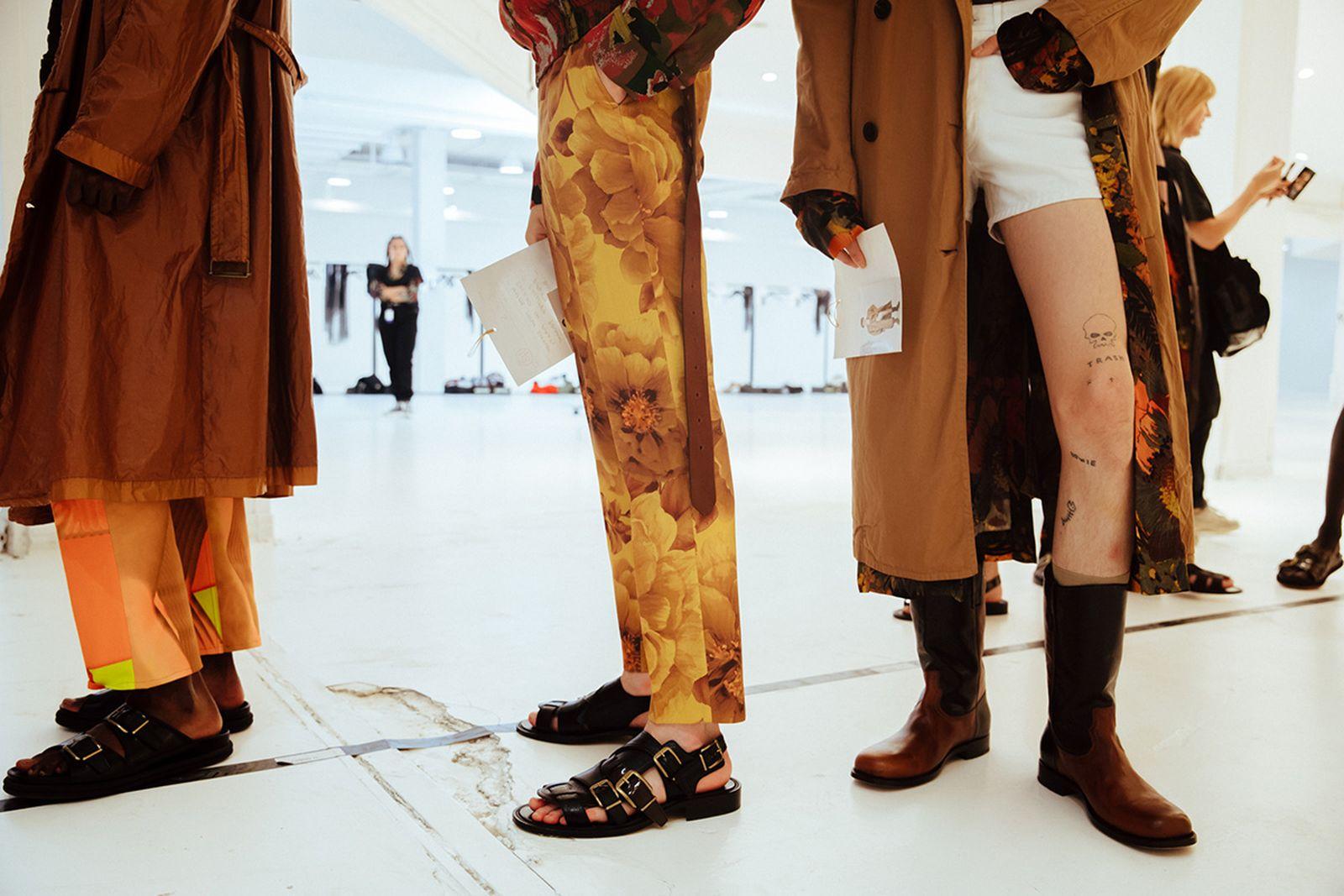 dries van noten ss20 menswear collection runway