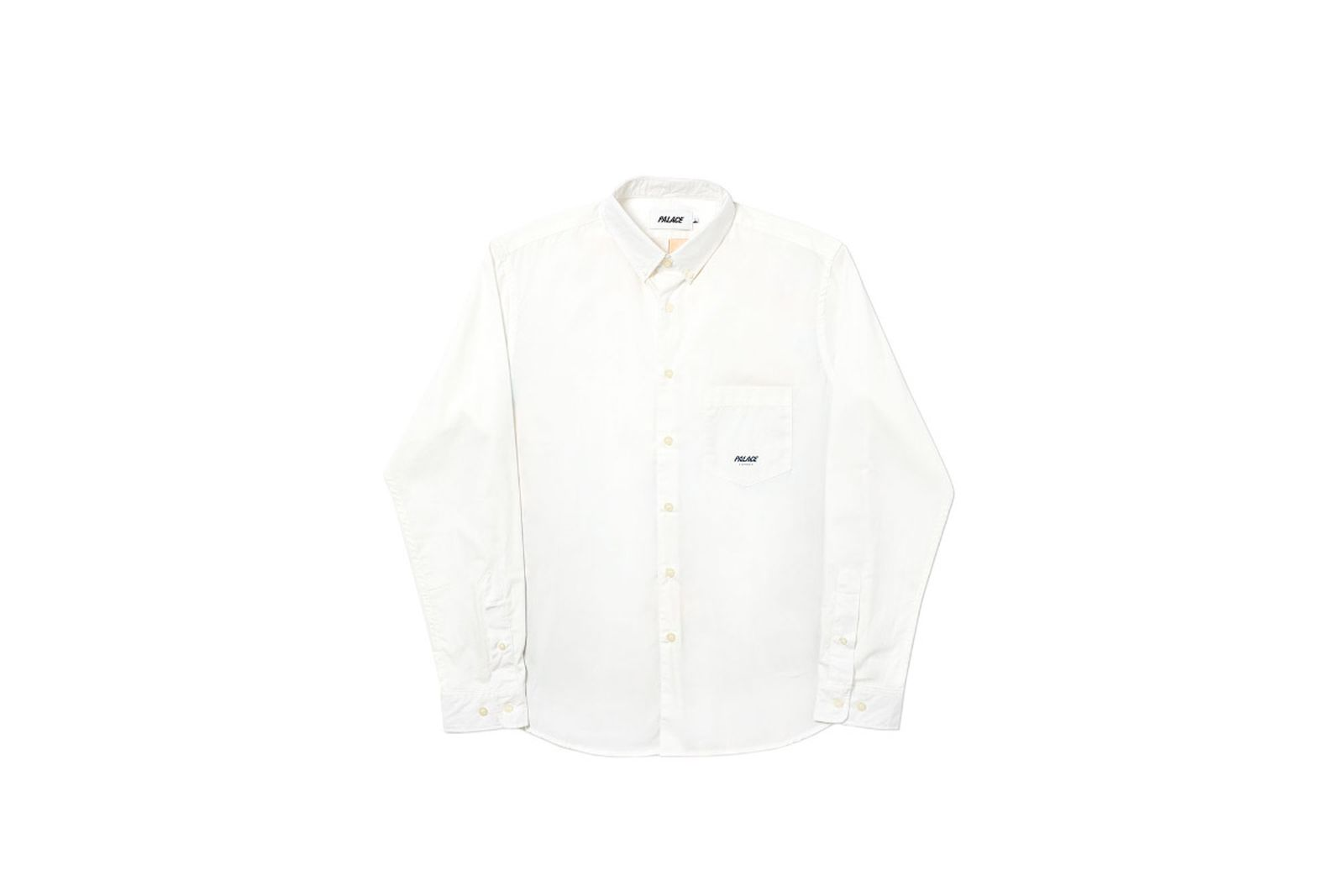 Palace 2019 Autumn Shirt Persailles white front fw19