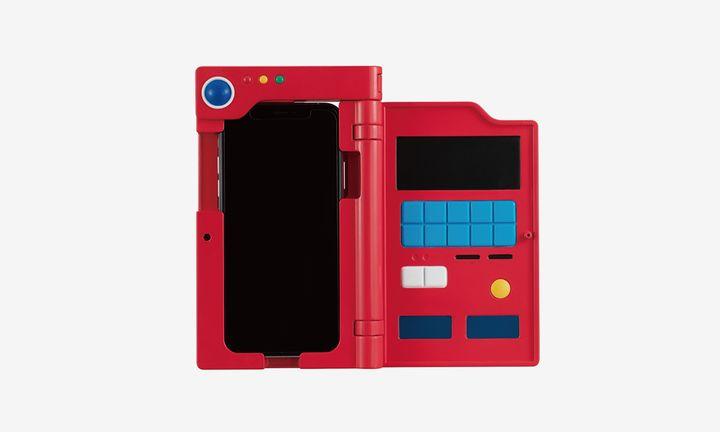 Premium Bandai Pokémon Pokedex iPhone case red