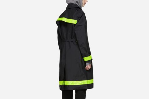 GORE-TEX Reflective Ripstop Trench Coat