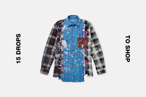 needles 7 cuts flannel shirt best drops buy Converse DRx Romanelli x LN-CC Loewe