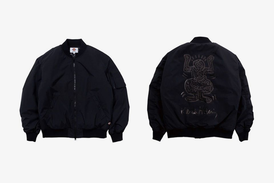 """Dickies Taps Keith Haring's Designs for Fall-Ready """"Black Line"""""""