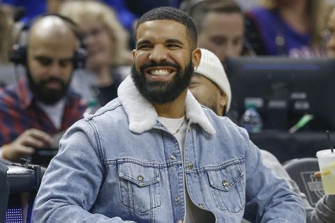 Drake jean jacket