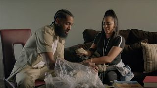 nipsey hussle belly dom kennedy double up video Lauren London Victory Lap