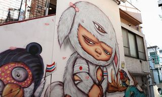 The 7 Coolest Tokyo Street Art Pieces You Need to Know About