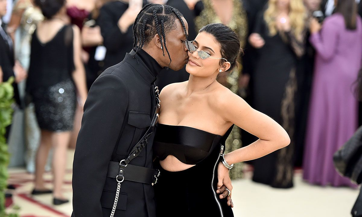 Kylie Jenner Poses for 'Playboy' Shoot Moderated by Travis Scott