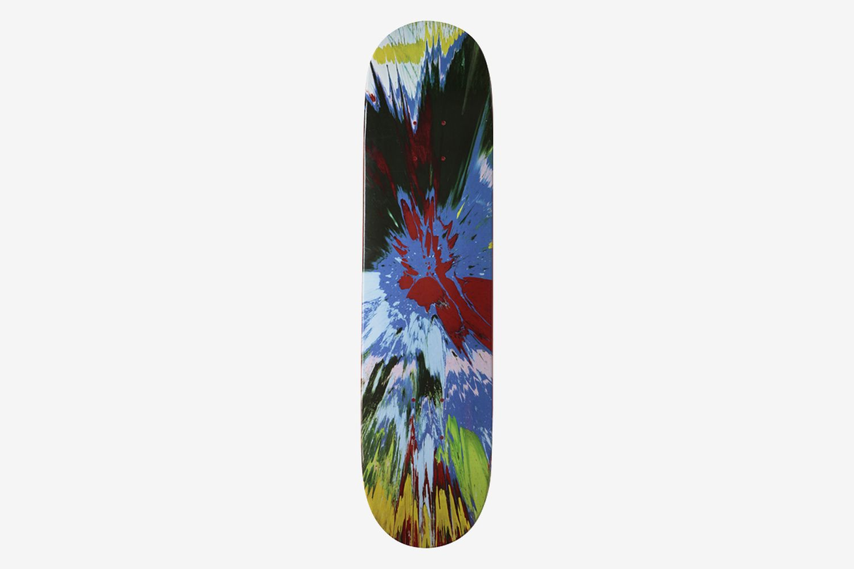 Supreme (Red) #7 Spin Series Skateboard Deck , 2009