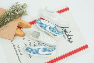 new product 1fb6d 0f84c These Gingham-Print Cortez Give Off Strong Picnic Vibes