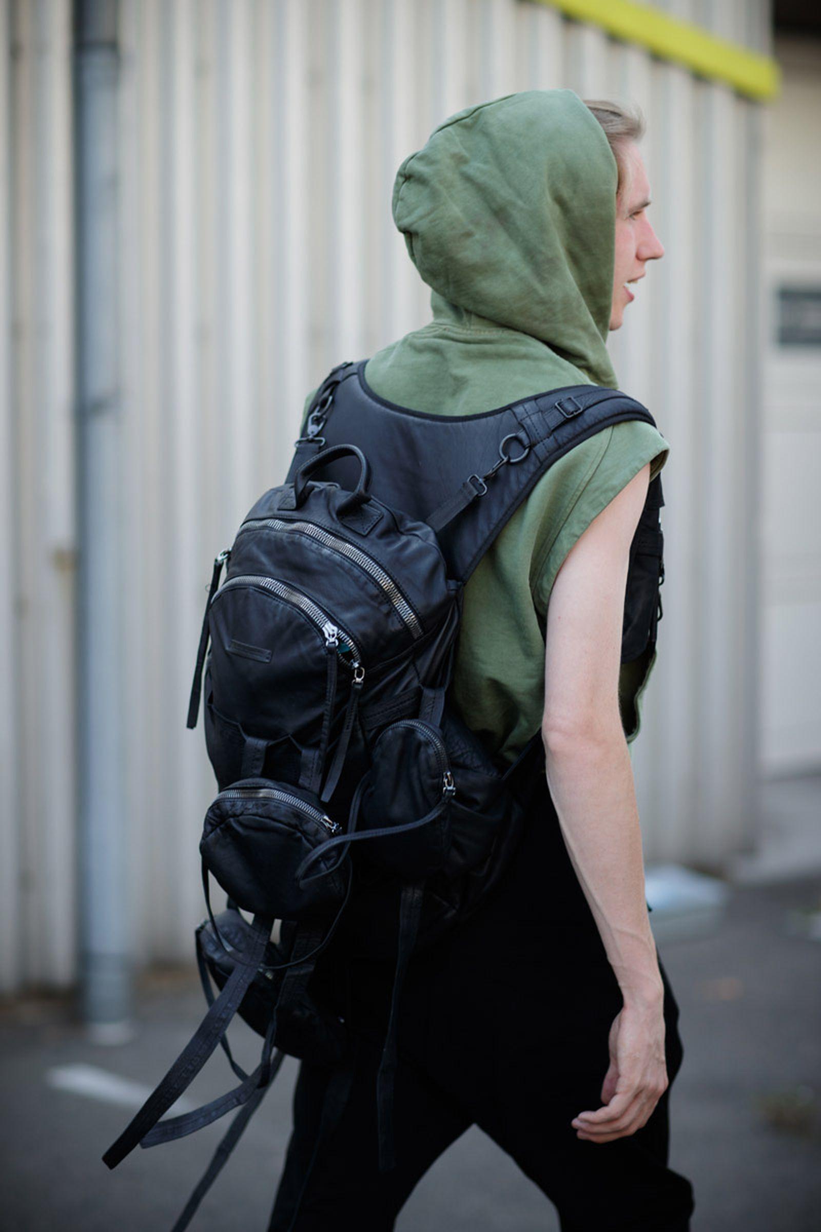 copenhagen street style bags14 Copenhagen Fashion Week Nike Supreme