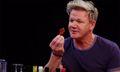 Gordon Ramsay Chugs Pepto-Bismol on Hilarious Episode of 'Hot Ones'