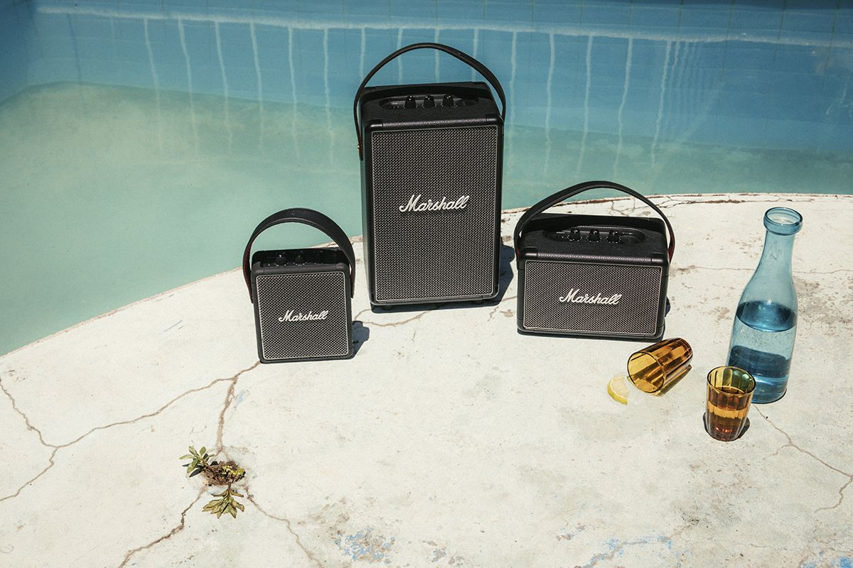 Marshall's New Portable Speakers Are Made for Summer Fun