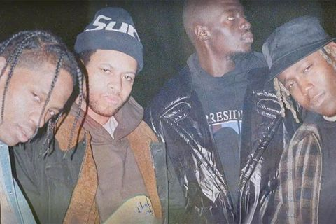 Travis Scott, Sheck West, Chase B and Don Tolliver
