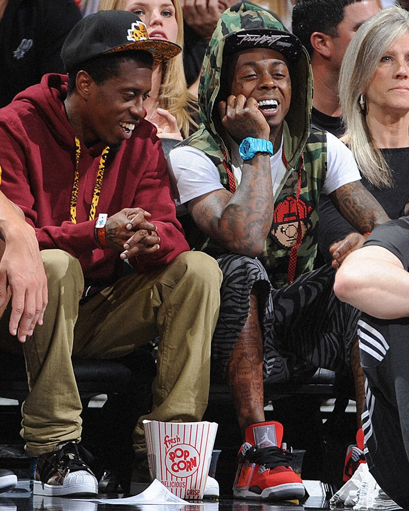Seven Times Fire Sneakers Showed Up Courtside at the NBA 21