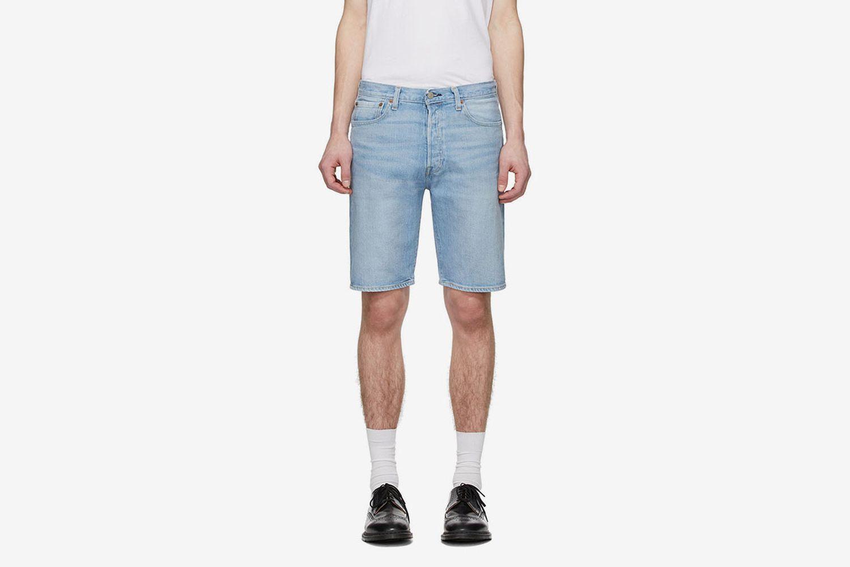 Denim 501 Hemmed Shorts