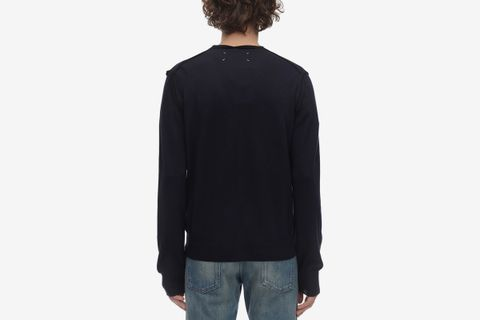 Wool Blend Cardigan Sweater