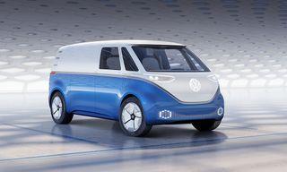 Volkswagen's New Electric Microbus Is Retro-Futuristic Perfection