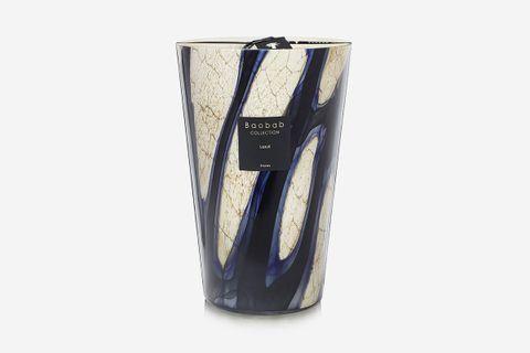 """Stones Lazuli Candle, 14"""""""