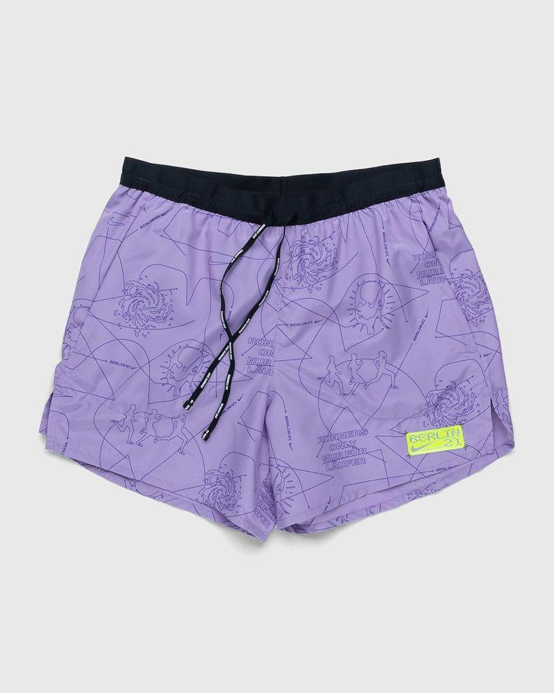 Nike x Highsnobiety – Men Dri-Fit Berlin Short Orchid Mist Black