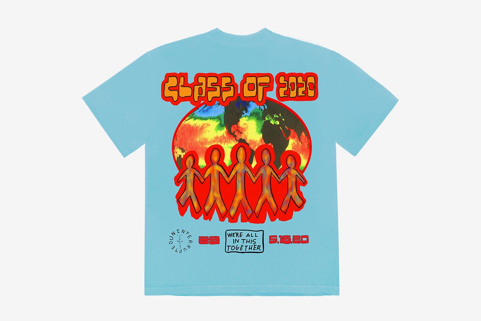Travis Scott LeBron James graduation 2020 t-shirt