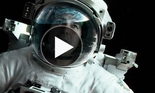 Watch the Official Main Trailer for 'Gravity' starring George Clooney and Sandra Bullock