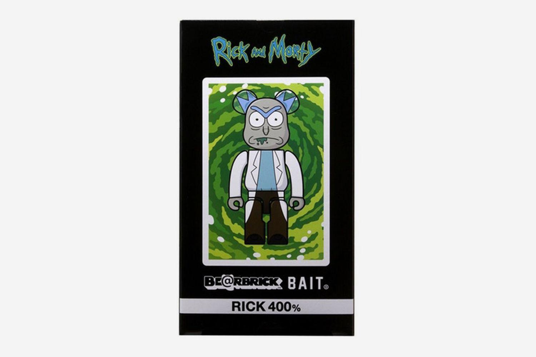 BAIT Medicom BE@RBRICK Rick and Morty 100/% Bearbrick Figure Set