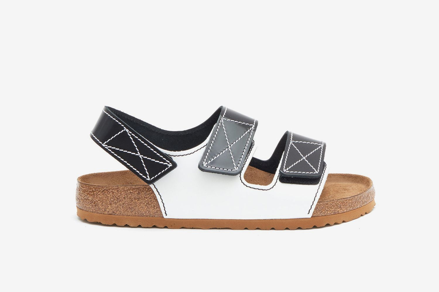 Schouler Milano Leather Sandals