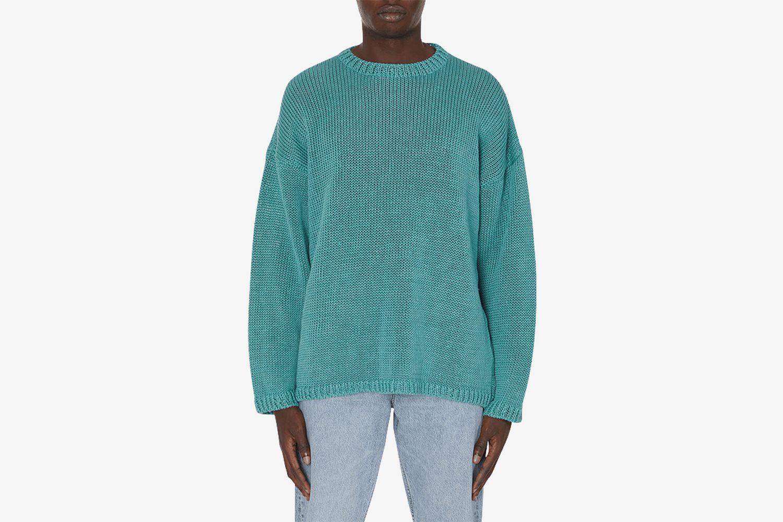 Popover Round Neck Knitwear