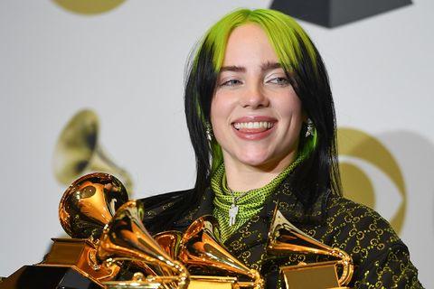 Billie Eilish Grammy awards