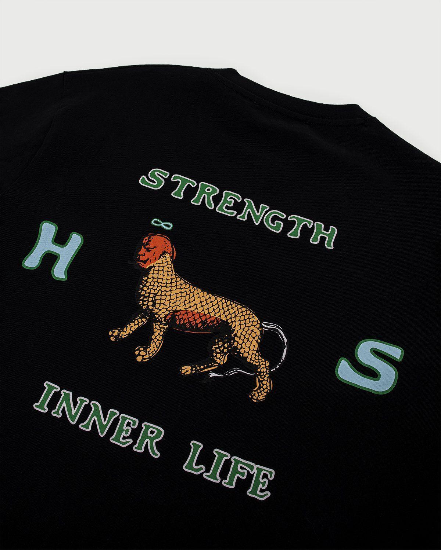 Highsnobiety — Inner Life The Strength T-Shirt Black - Image 4