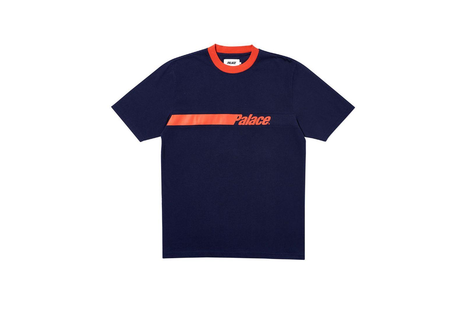 Palace 2019 Autumn T Shirt Tonka navy