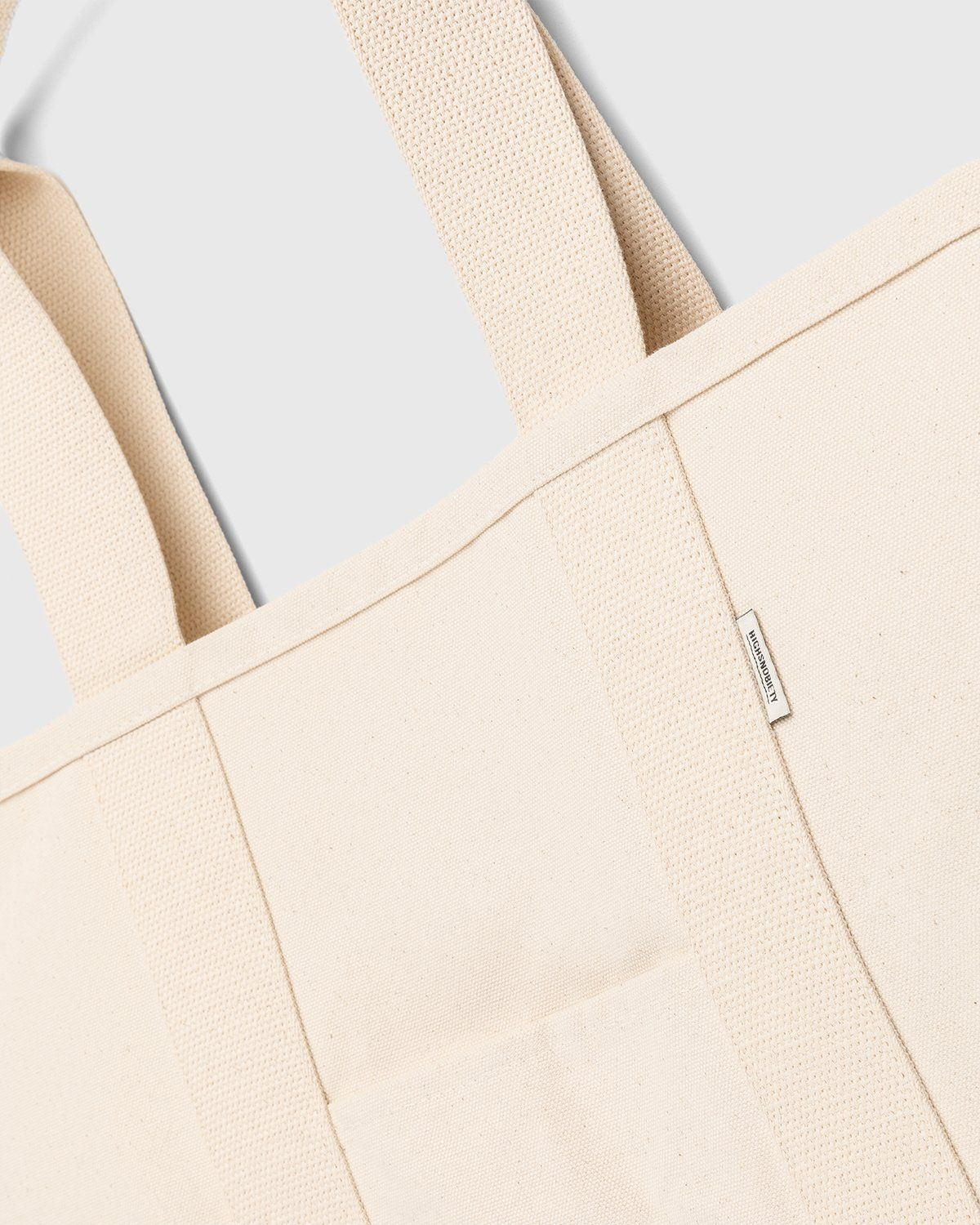 Highsnobiety – Heavy Canvas Large Shopper Tote Natural - Image 4