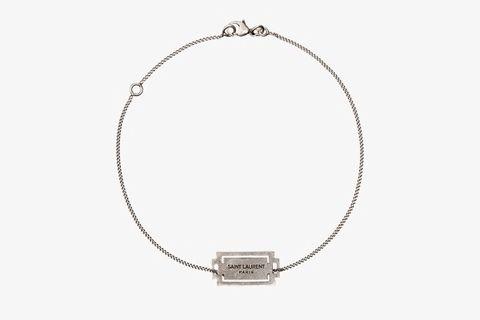 Silver Razor Bracelet