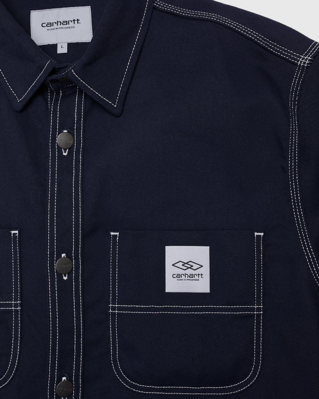 Carhartt WIP x Ljubav —  Chalk Shirt Jac Navy - Image 3