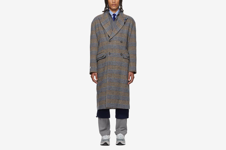 Wool Sherlock Double Coat