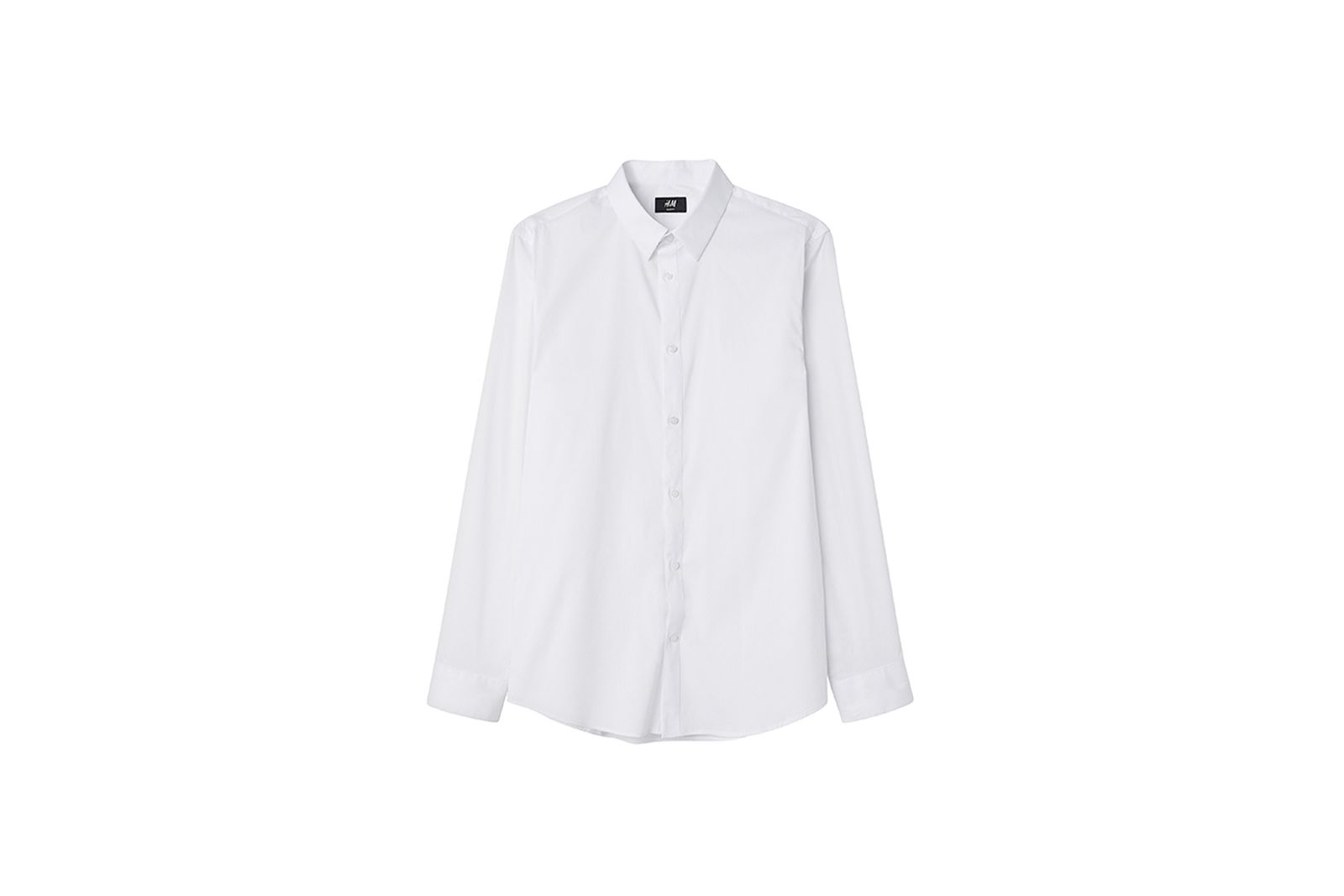 HM Slim Fit Shirt Gift Guide h&m holiday