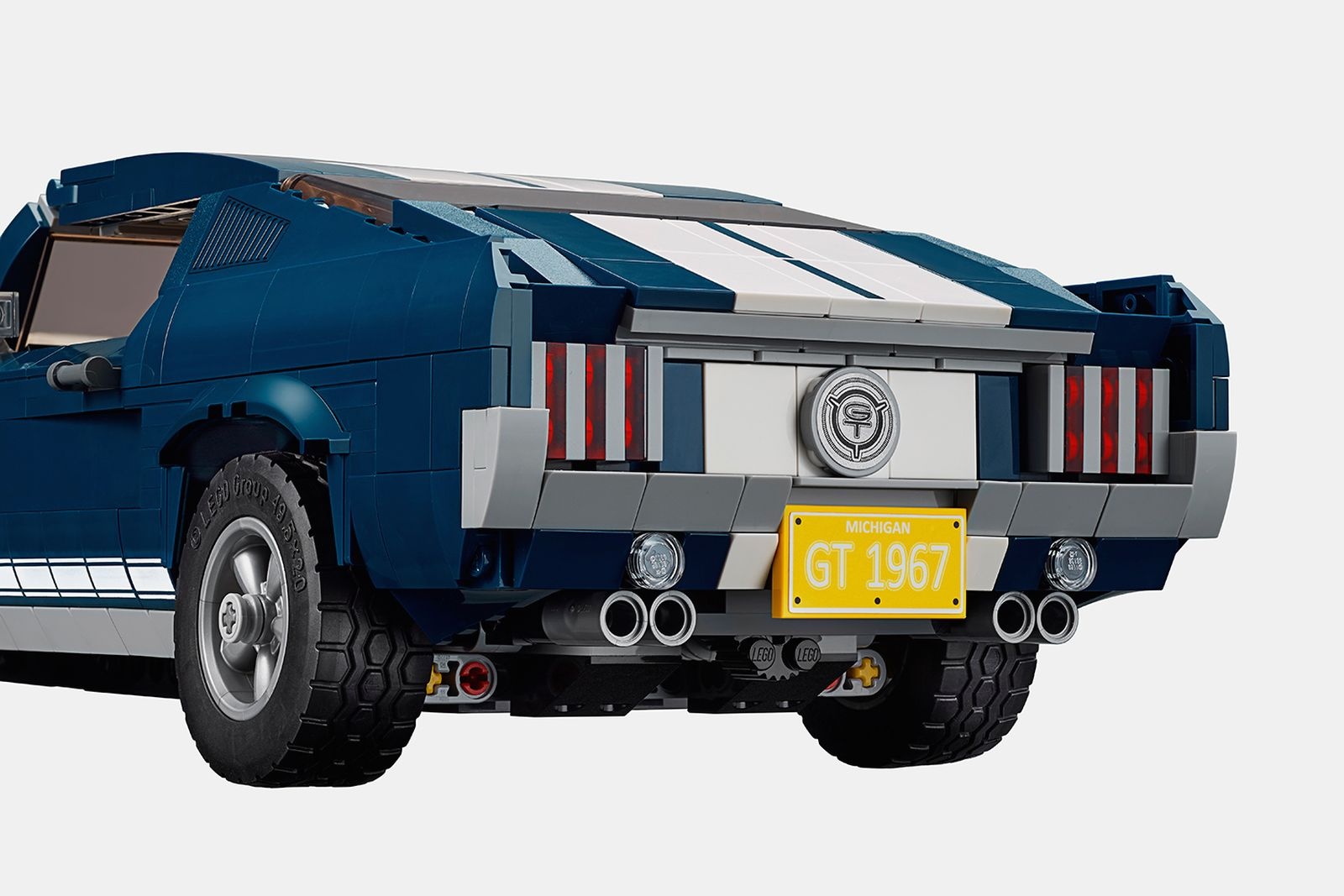 lego 1960s ford mustang