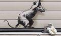 Banksy Debuts Anti-Brexit Piece 'Keep Ou' in London